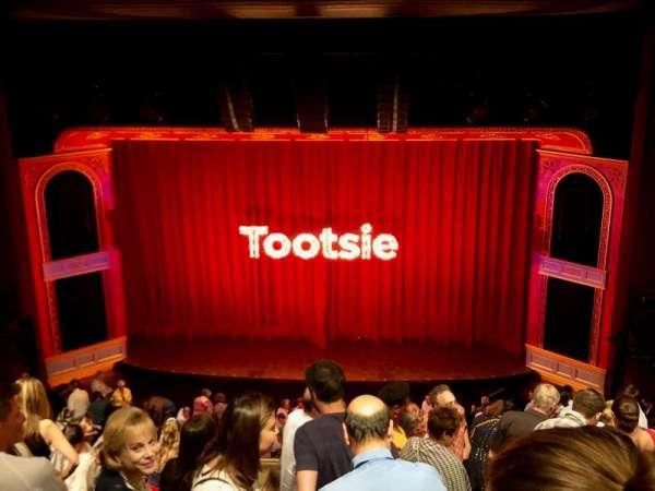 Marquis Theatre, secção: Mezzanine C, fila: H, lugar: 114