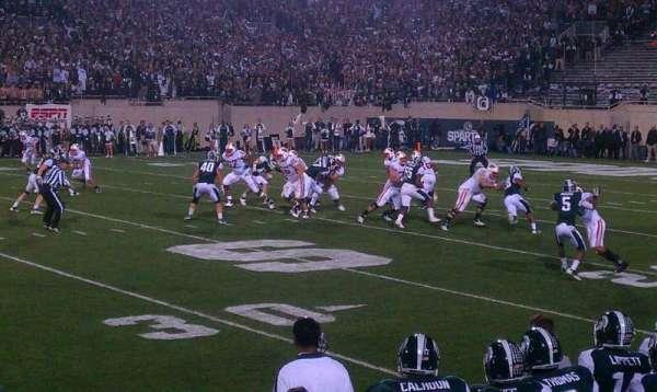 Spartan Stadium, secção: 23, fila: 4, lugar: 15