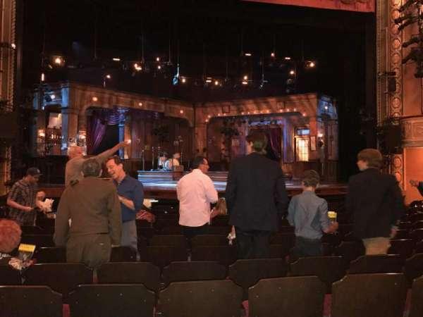 Bernard B. Jacobs Theatre, secção: Orchestra C, fila: L, lugar: 113