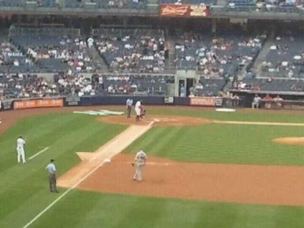 Yankee Stadium, secção: 206, fila: 3, lugar: 6