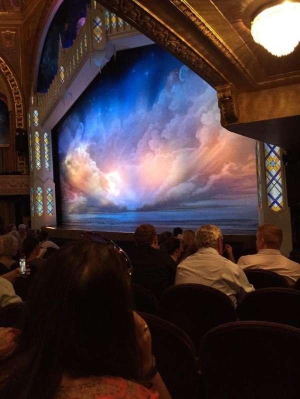 Eugene O'Neill Theatre, secção: Orchestra R, fila: J, lugar: 26