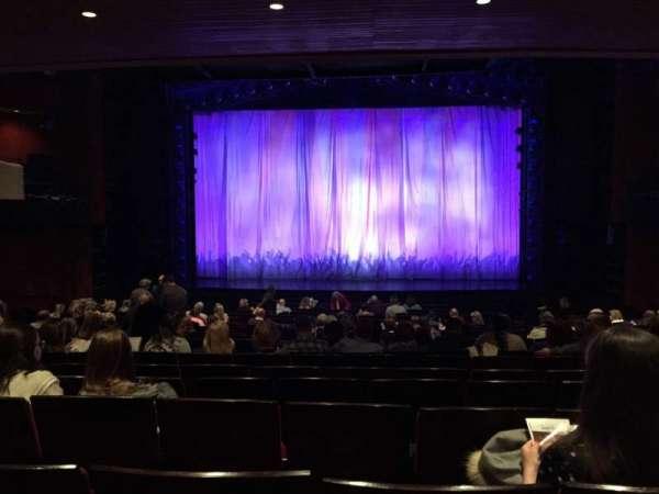 Marquis Theatre, secção: Orchestra C, fila: U, lugar: 115