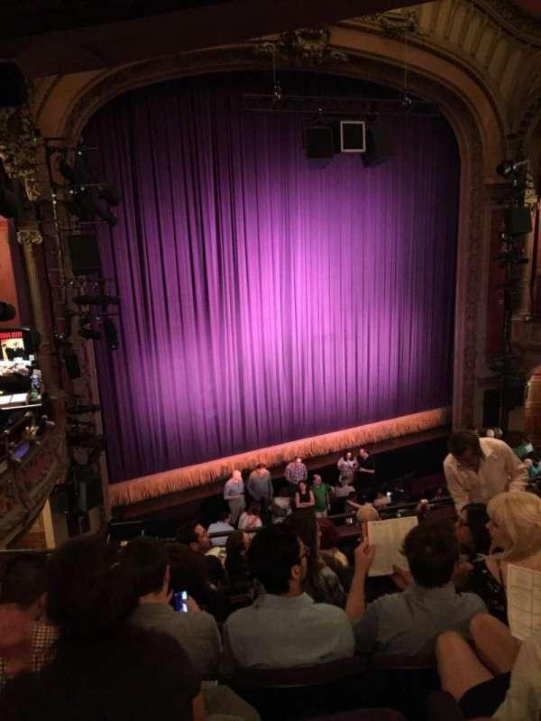 Lyceum Theatre (Broadway), secção: Mezzanine L, fila: G, lugar: 13