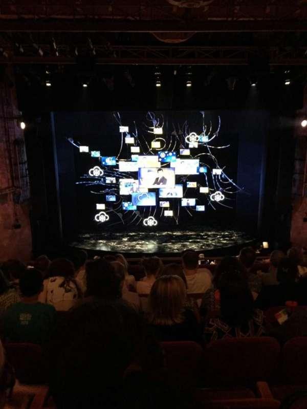 August Wilson Theatre, secção: Mezzanine C, fila: G, lugar: 111