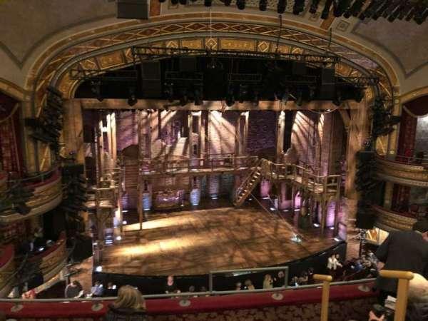Richard Rodgers Theatre, secção: Front Mezzanine L, fila: E, lugar: 7