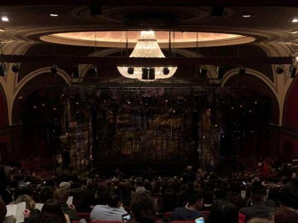 Broadway Theatre - 53rd Street, secção: Rear Mezzanine C, fila: Q, lugar: 107