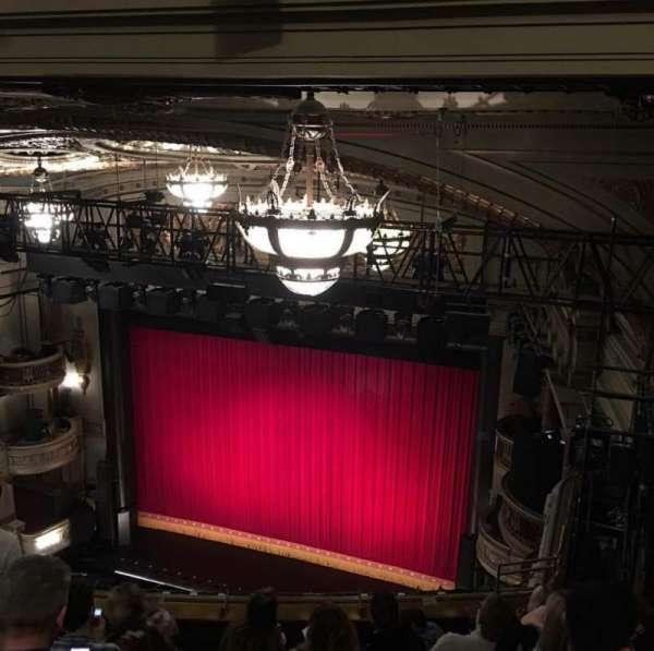 Theatre Royal Drury Lane, secção: Balcony, fila: K, lugar: 3