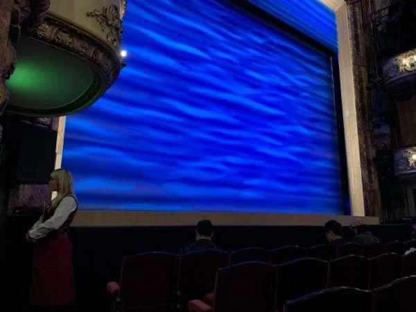 Novello Theatre, secção: Stalls, fila: G, lugar: 24-25