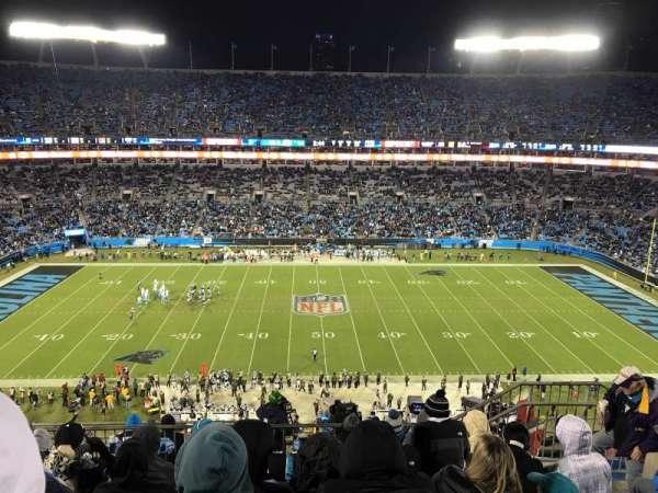 Bank of America Stadium, secção: 542, fila: 6, lugar: 10