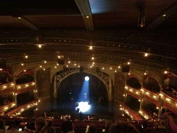 Lyric Theatre, secção: Balcony C, fila: G, lugar: 117