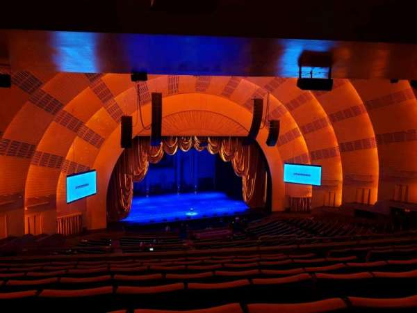 Radio City Music Hall, secção: 2nd Mezzanine 6, fila: H, lugar: 607
