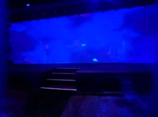 Blue Man Group Theater, secção: 103, fila: A, lugar: 1
