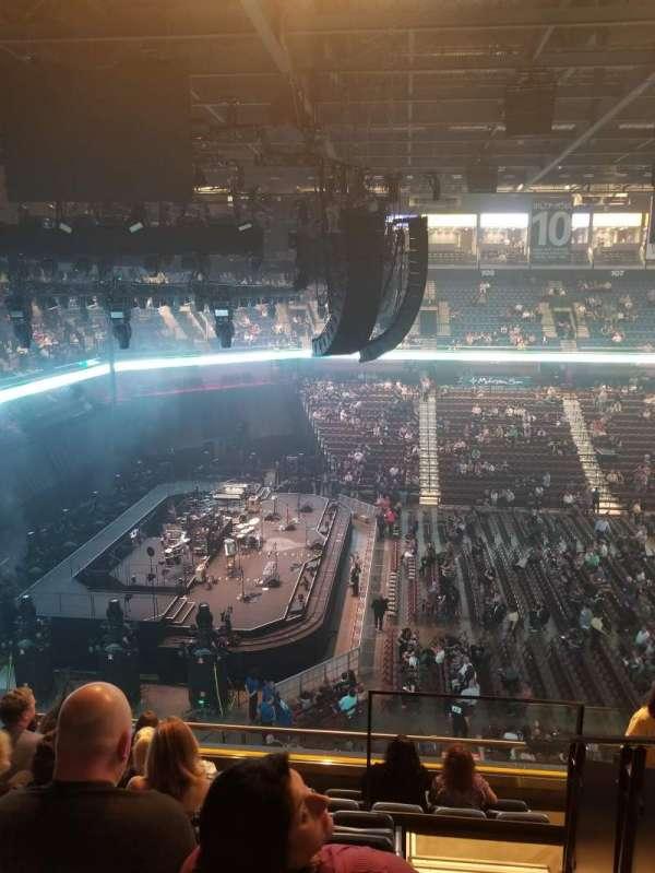 Mohegan Sun Arena, secção: 119, fila: H, lugar: 3