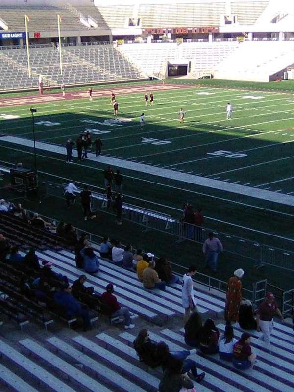 Bobcat Stadium (TSU), secção: 201, fila: 1, lugar: 1