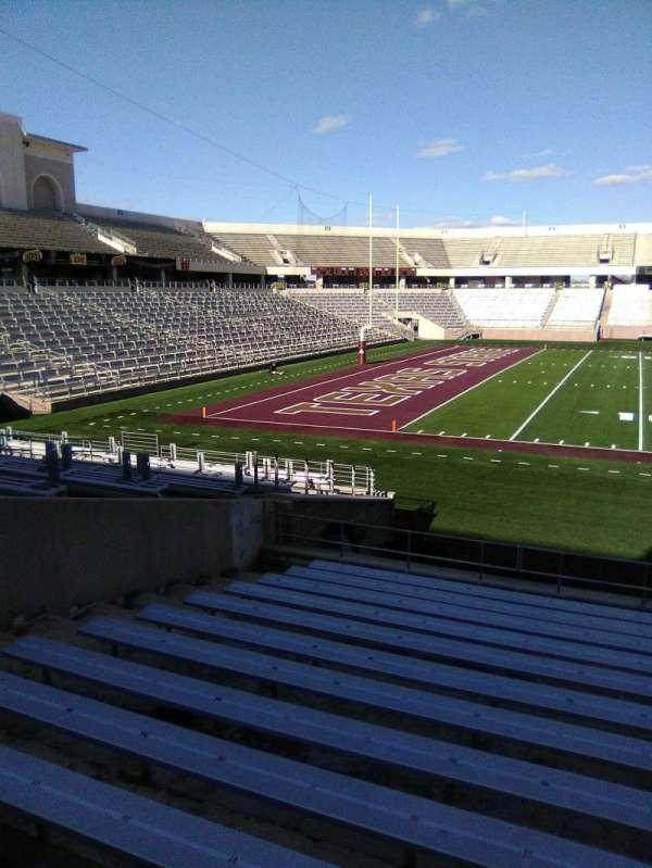 Bobcat Stadium (TSU), secção: 105, fila: 13, lugar: 23