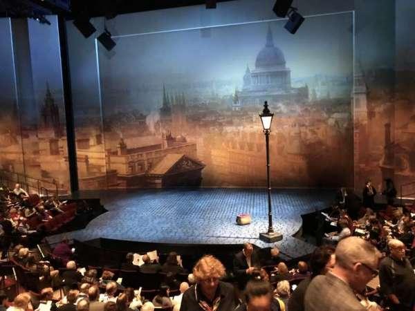 Vivian Beaumont Theater, secção: Orchestra C, fila: N, lugar: 314