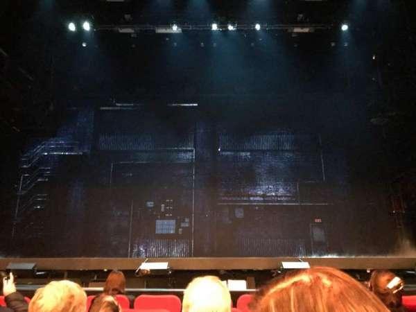 Broadway Theatre - 53rd Street, secção: Orchestra C, fila: F, lugar: 107