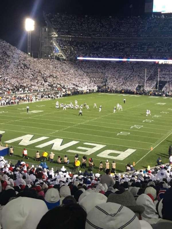 Beaver Stadium, secção: NC, fila: 47, lugar: 16