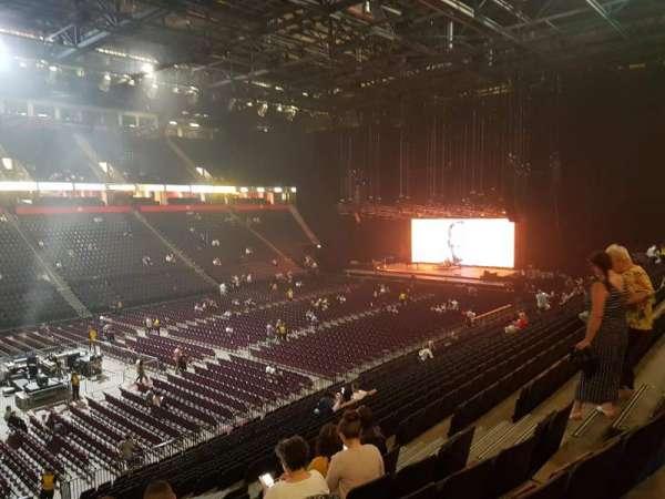 Manchester Arena, secção: 112, fila: X, lugar: 12