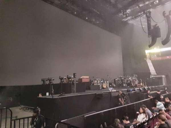 Manchester Arena, secção: 102, fila: C, lugar: 7