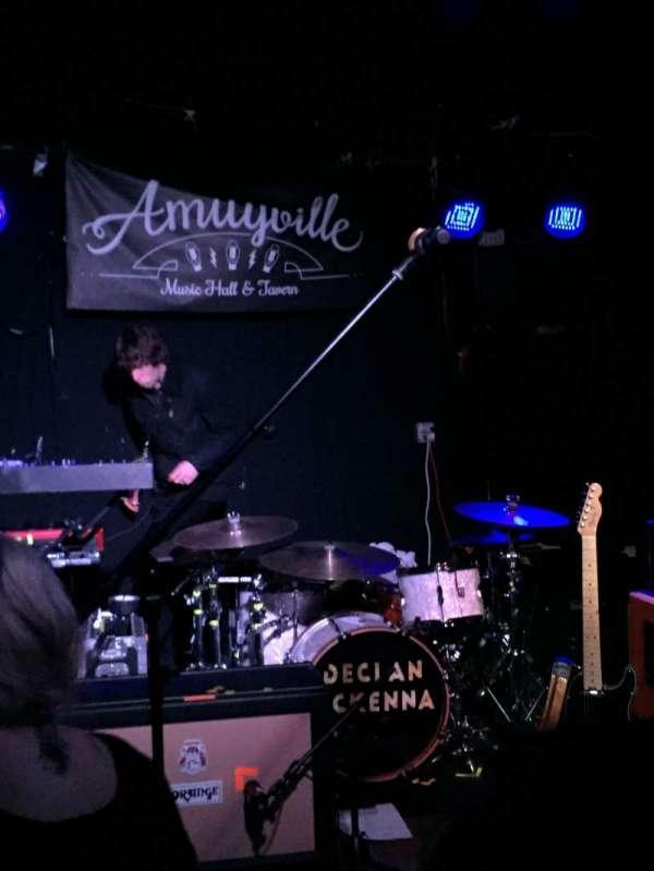 Amityville Music Hall, secção: Front row, fila: General admission