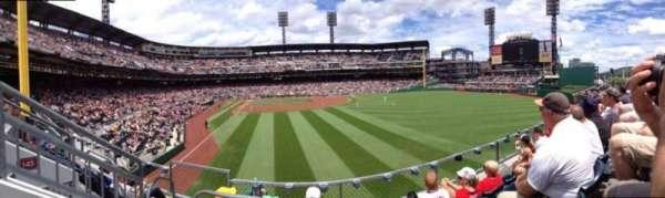 PNC Park, secção: 144, fila: D, lugar: 16