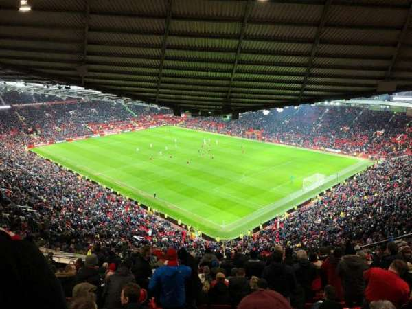Old Trafford, secção: NW3431, fila: 36, lugar: 89