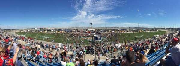 Chicagoland Speedway, secção: 101, fila: 11, lugar: 11