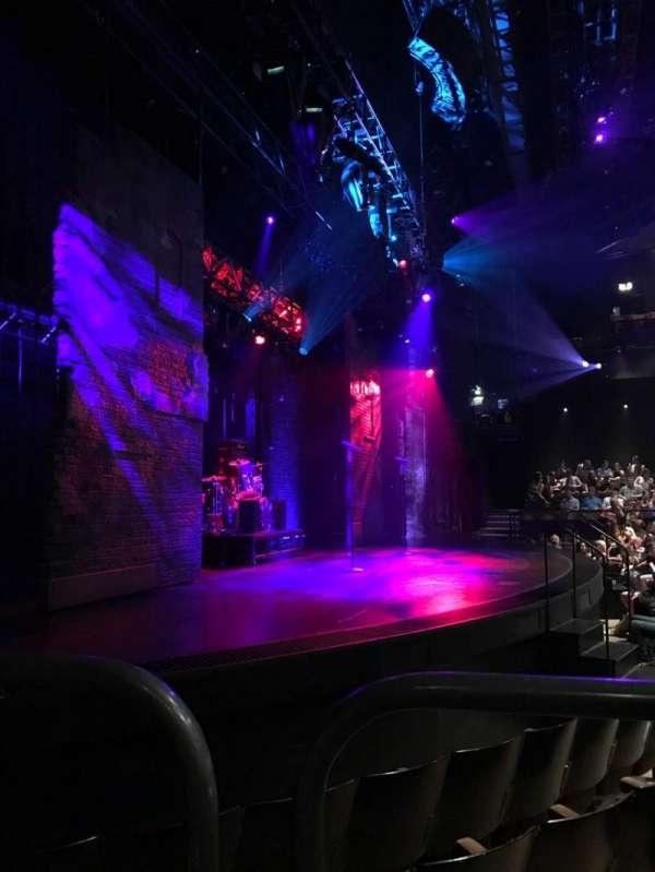 Gillian Lynne Theatre, secção: Stalls, fila: I, lugar: 60