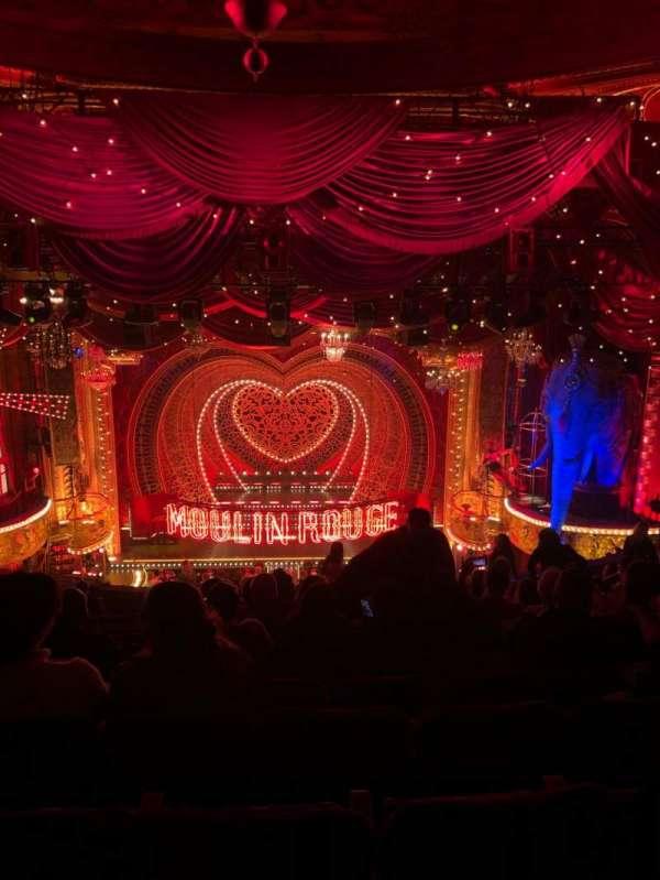 Al Hirschfeld Theatre, secção: Mezzanine C, fila: O, lugar: 106