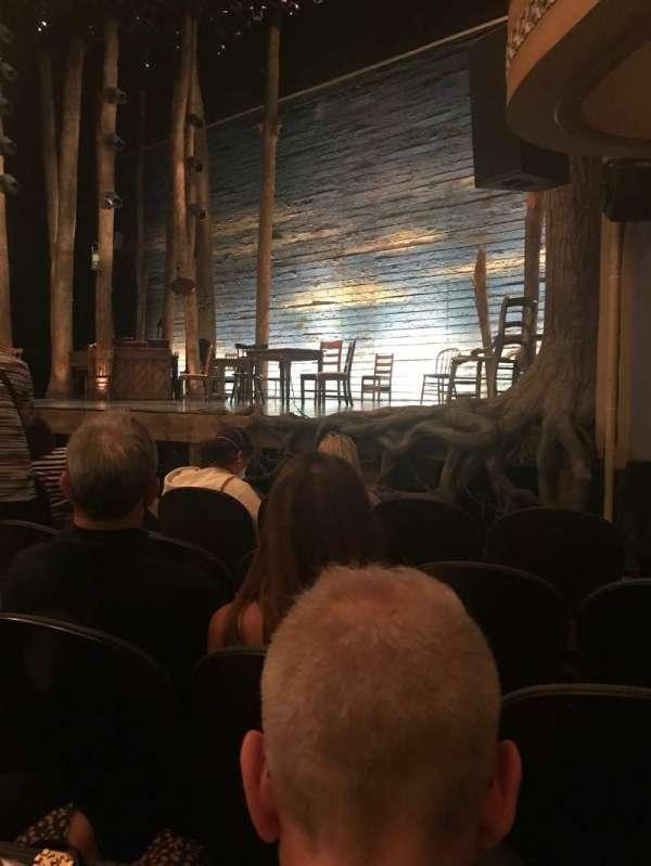 Gerald Schoenfeld Theatre, secção: Orchestra R, fila: E, lugar: 12