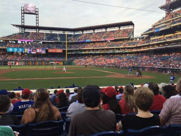 Citizens Bank Park, secção: 130, fila: 12, lugar: 13