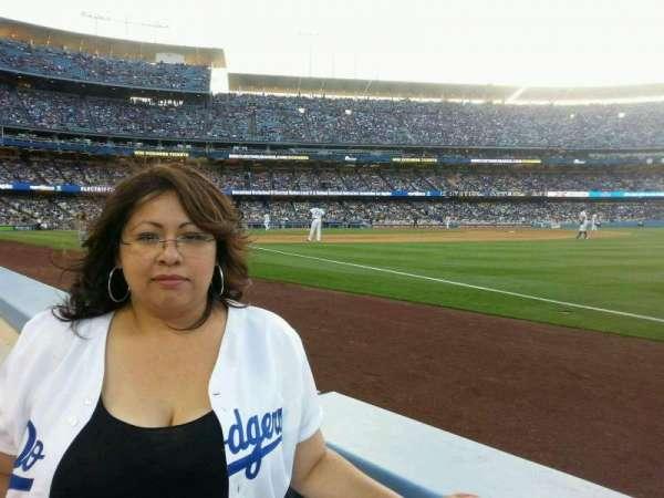 Dodger Stadium, secção: 38BL, fila: 1, lugar: 1