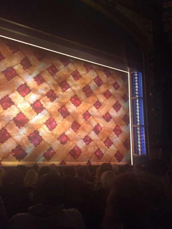 Brooks Atkinson Theatre, secção: Orchestra C, fila: G, lugar: 103