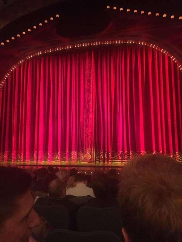 Shubert Theatre, secção: Orchestra C, fila: L, lugar: 101