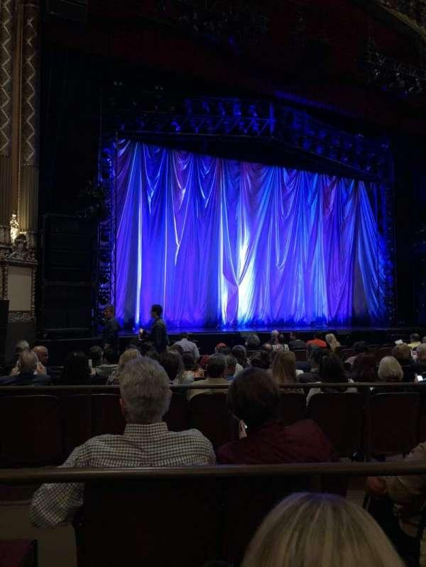 Golden Gate Theatre, secção: Orchestra, fila: K, lugar: 117