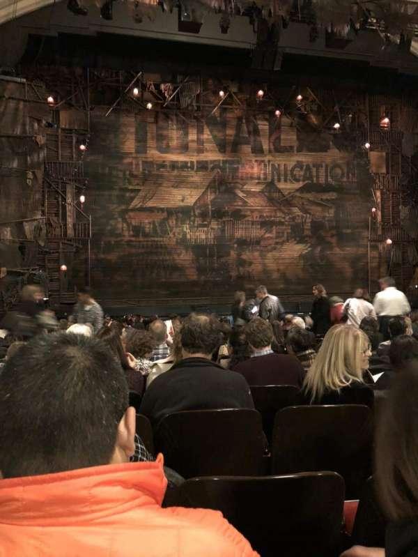 Orpheum Theatre (San Francisco), secção: Orchestra LC, fila: R, lugar: 119