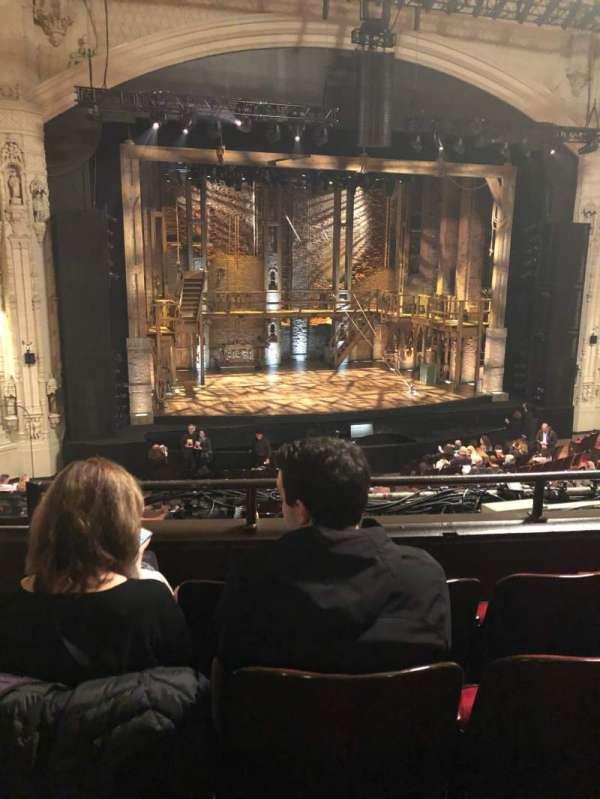 Orpheum Theatre (San Francisco), secção: Mezzanine, fila: D, lugar: 127