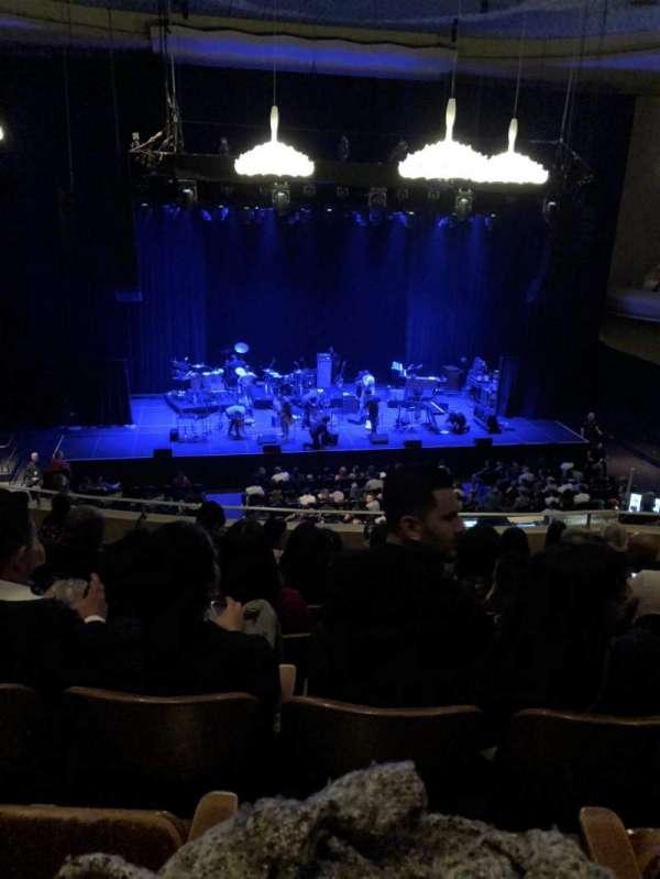 SF Masonic Auditorium, secção: 7Balcony, fila: 8, lugar: 10