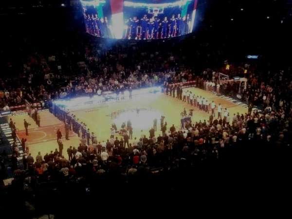 Madison Square Garden, secção: 222, fila: 10, lugar: 11