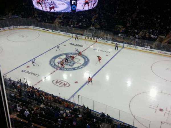 Madison Square Garden, secção: 315, fila: 1, lugar: 10