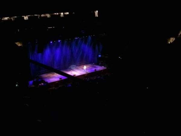 Madison Square Garden, secção: 328, fila: 2, lugar: 8