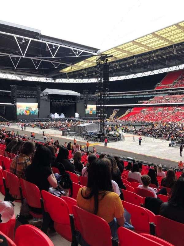 Wembley Stadium, secção: 118, fila: 27, lugar: 202
