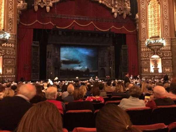 The Fabulous Fox Theatre (St. Louis), secção: Orch03, fila: V, lugar: 119