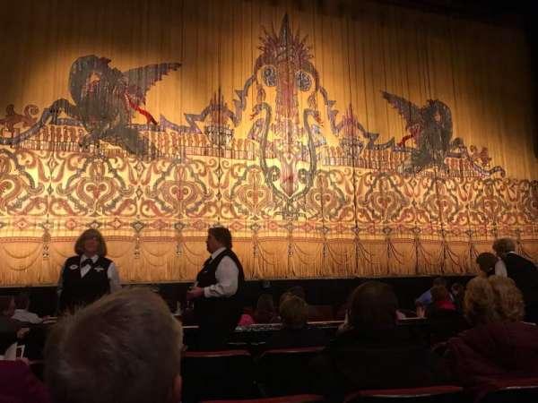 The Fabulous Fox Theatre (St. Louis), secção: Orch03, fila: D, lugar: 113