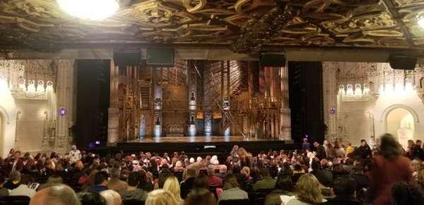 Orpheum Theatre (San Francisco), secção: Orchestra LC, fila: BB, lugar: 109