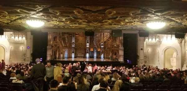 Orpheum Theatre (San Francisco), secção: Orchestra LC, fila: CC, lugar: 104