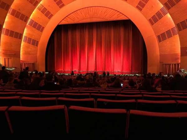 Radio City Music Hall, secção: Orchestra 3, fila: L, lugar: 303