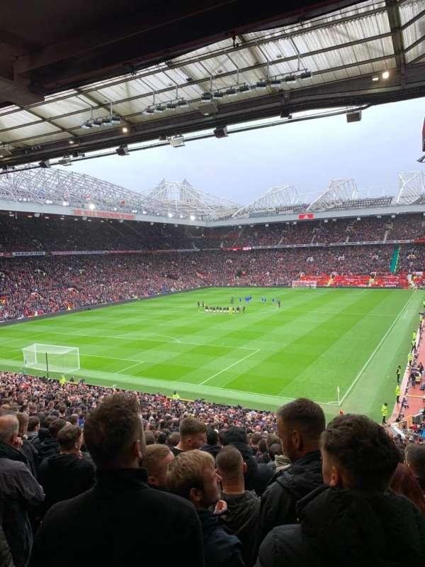 Old Trafford, secção: W208, fila: 30, lugar: 100
