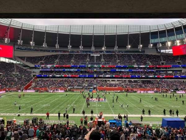 Tottenham Hotspur Stadium, secção: Suite 243, fila: 6, lugar: 629